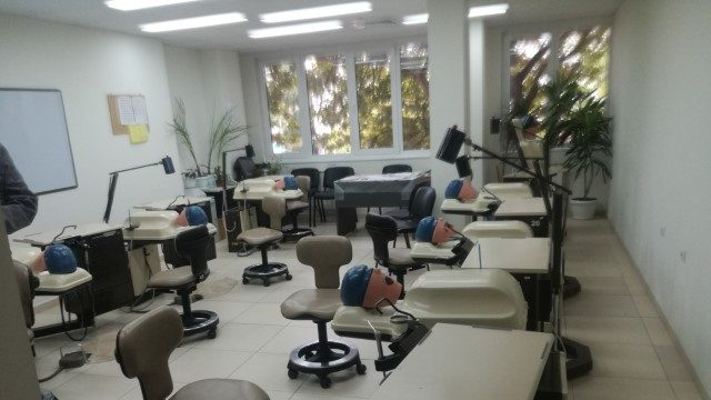 Medizinische Universität Varna Medizinische Fakultät für Zahnmedizin Gebäude von innen