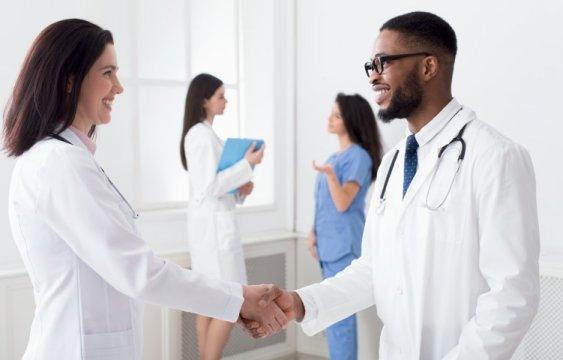 Internationale Karriere als Arzt