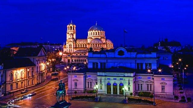 Das Zentrum von Sofia