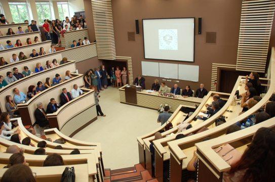Zeugnisvergabe Medizinische Universität Sofia 5