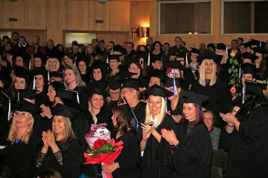 Zeugnisvergabe Medizinische Universität Sofia 3