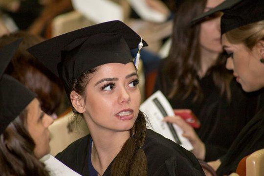 Zeugnisvergabe Medizinische Universität Sofia 16