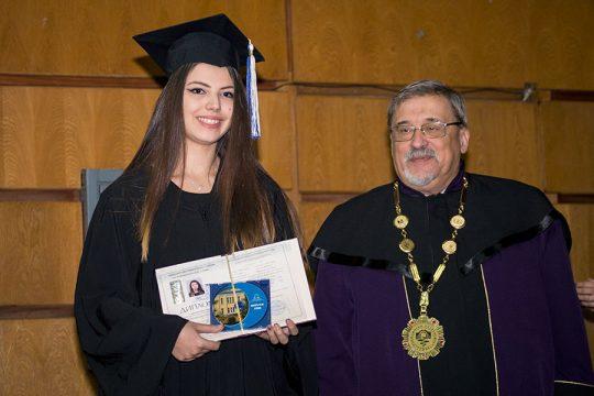 Zeugnisvergabe Medizinische Universität Sofia 9